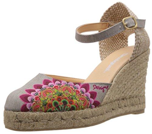 Desigual Damen Shoes Vicky Espadrilles, Rot (3001), 36 EU