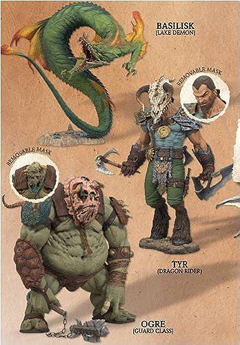 McFarlane's Fantasy Serie 1 Legend of the Blade Hunters - Set (4)