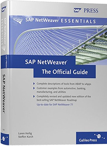 SAP NetWeaver: The Official Guide