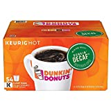 Dunkin' Donuts Decaf K-Cup Pods for Keurig Brewers, 54 Count (Packaging May Vary)
