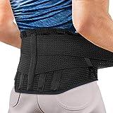 腰サポーター AGPTEK 腰痛ベルト サポートベルト コルセット 腰痛 サポーター 腰 保護 腰用 けが防止 伸縮 腰痛軽減ベルト 腰椎サポーター 腰・腰椎用サポーター 姿勢矯正 男女兼用