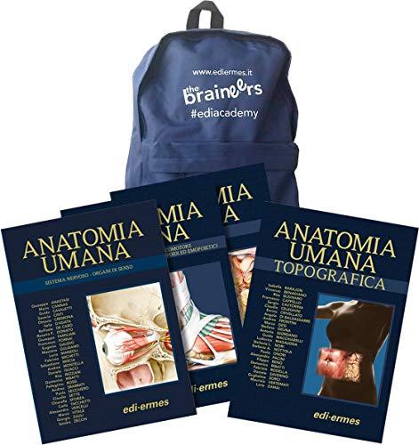 Anatomy bag: Trattato di anatomia umana-Anatomia umana topografica, Quinta edizione