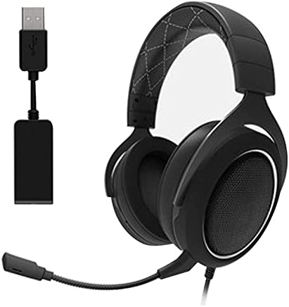 Cuffie da Gioco, Driver Audio Leggeri, Audio Surround 7.1, Cuffie Over Ear con Microfono a cancellazione di Rumore (per PC, PS4, Switch, Xbox One, VR)-White - Trova i prezzi più bassi