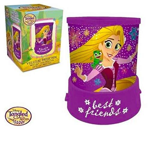Nachtlampje projectie Disney prinses Rapunzel