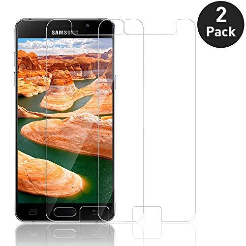 [2-Pack] Protector de Pantalla para Samsung Galaxy A5 2017,Cristal Templado Protector de Pantalla para Samsung A5 2017 con[9H Dureza][Alta Definición][AltaTransparencia][Sin Cobertura Toda Pantalla]