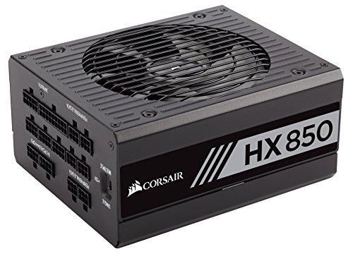 Corsair HX850 Unidad de - Fuente de alimentación (850 W, 100-240 V, 47-63 Hz, 6-12 A, 850 W, 9,6 W)