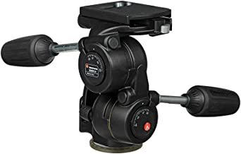 Manfrotto 3-Way Pan/Tilt Head with RC4 Quick Release Plate (808RC4)