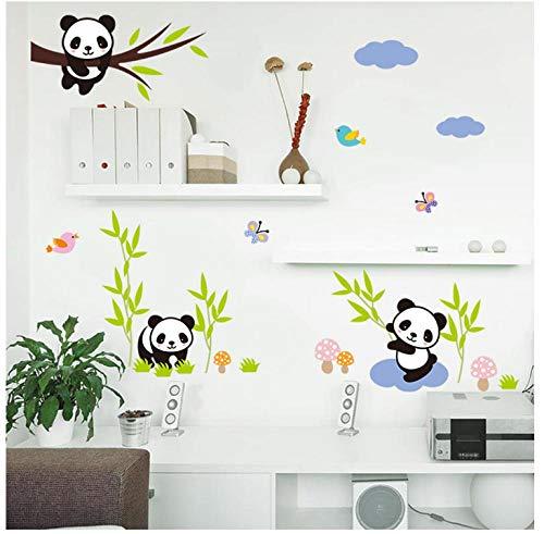 Pandabär Muralebambu aus Aggiunta Agli Muraloglas, Wandaufkleber für Kinderzimmer