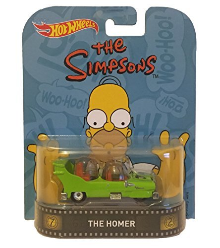 Hot Wheels Retro Entertainment Diecast Vehicle, The Homer by