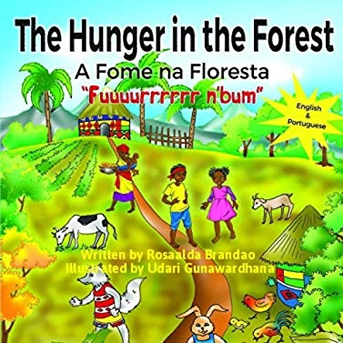 "The Hunger in the Forest ""Fuuuurrrrrr n'Bum"": In English and Portuguese audiobook cover art"