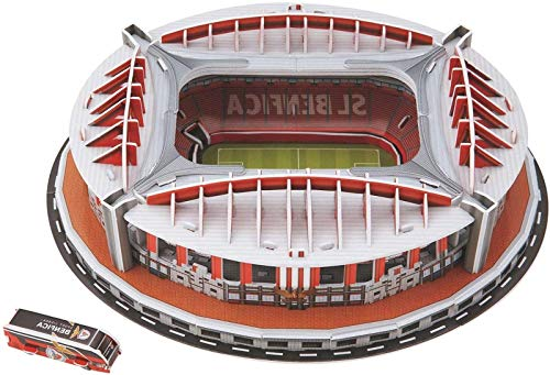 Hsj 3D Stadion Puzzle, Manchester United Old Trafford Stadion 3D Puzzle, Erwachsene und Kinder Stadion Modellbausatz Stadion 3D Puzzle Fußball Feld Modell Fußball Feld Montage Spielzeug Exquisit wo