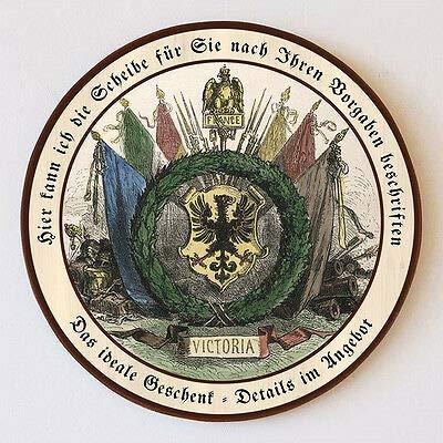 Kunstdruck Fahnengalerie - Bandera de Francia (55 cm), diseño de águila
