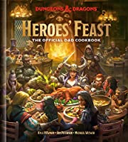 HEROES FEAST OFF D&D COOKBOOK HC: The Official D and D Cookbook