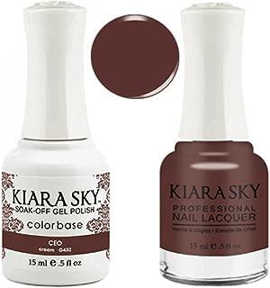 Kiara Sky Matching Gel Polish + Nail Lacquer, CEO, .5 fl. oz