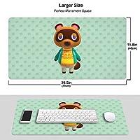 どうぶつの森 あつまれ Animal Crossing マウスパッド ゲーミングマウスパッド 大型 ラバー素材採用 Fpsゲーム パソコン キャラクター 滑り止め 疲労低減 耐摩耗 かわいい グッズ 40*75cm