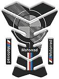 Tankpad Sticker, Protection de Reservoir Moto Autocollant en Gel compatible pour B.M.W. Motorrad v2