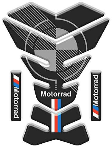 Motocicleta Gas Pantalla/Depósito de Combustible de Goma Tankpad Pantalla adhesivo para B.M.W. Motorrad v2