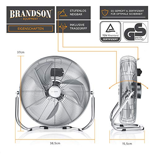 Retro Ventilator Brandson – Windmaschine Bild 2*