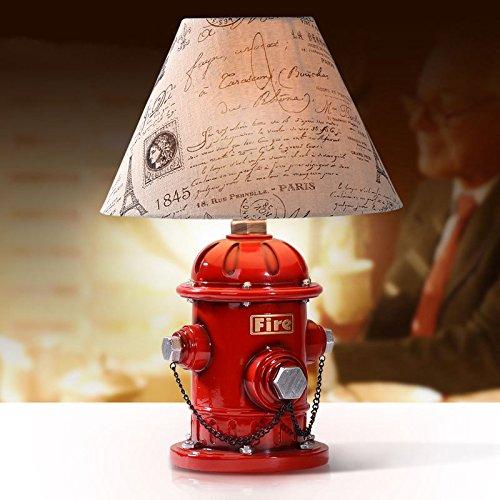 XY&GKKinder Schlafzimmer Bedlamp Amerikanische kreative Persönlichkeit schöne Einfachheit Arbeitszimmer Lampe Hydrant 12 * 33 cm#36 mit hoher Qualität