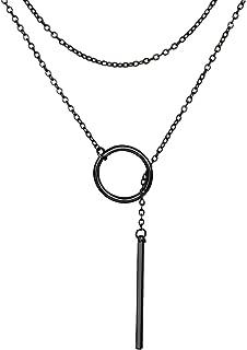 Best geometric pendant jewelry Reviews