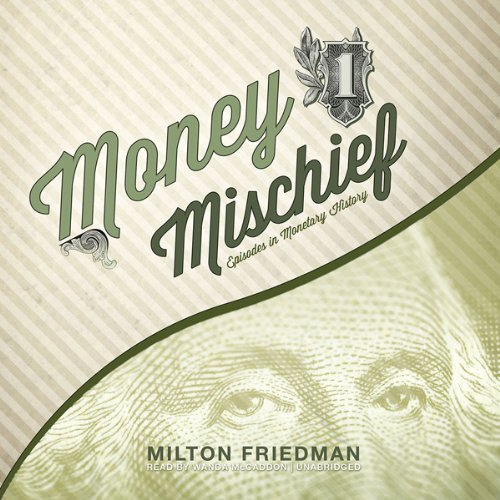 Money Mischief audiobook cover art