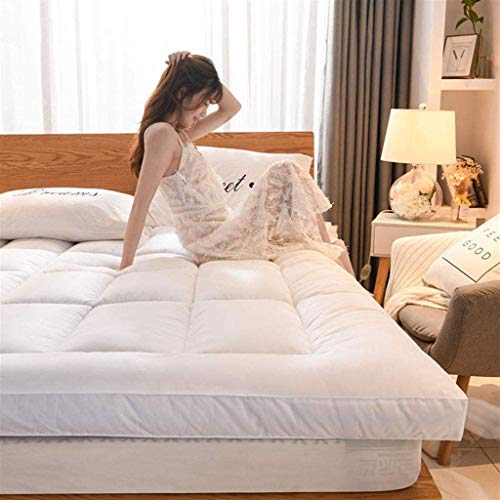 LUGEUK Colchón de Tatami Grueso, colchón japonés de futón japonés, colchón Plegable Tatami colchón Suave para Dormir (Color : F, Size : 180x220cm)