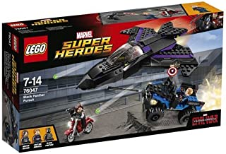 LEGO Super Heroes 76047: Captain America Civil War Black Panther Pursuit by LEGO