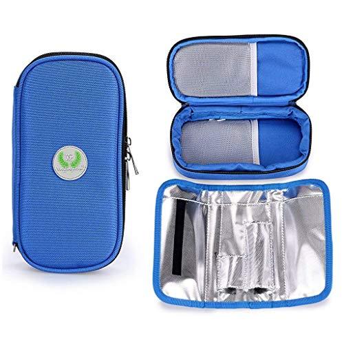 Insulin Cool Bag, Aranticy Draagbare Medische Koeler Case Spuiten Opslag Diabetische Organizer Pouch Pocket Container voor Diabetes insulines en drugs Thuis Reizen Camping Outdoor Gebruik