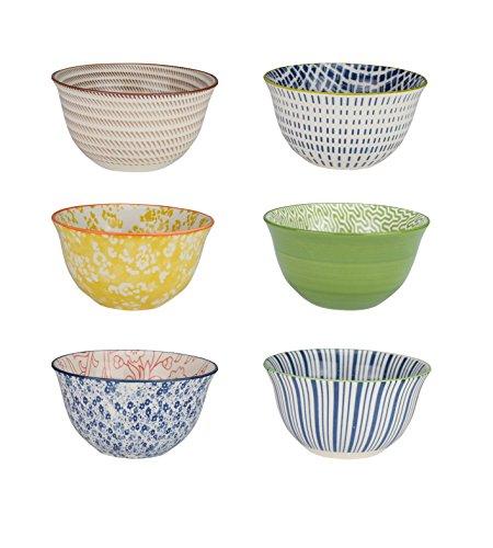 Ard' Time ec-6sabbol11–2Ciotola sabaé, Ceramica, Multicolore, 11cm