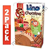Lino Chocolino Instant Cereal Flakes 2pack total 7oz. X 2 By: Egourmet