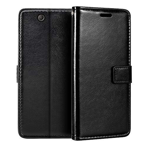 Custodia a portafoglio per Sony Xperia Z Ultra XL39H, in pelle sintetica di alta qualità, con supporto per carte di credito e cavalletto per Sony Xperia Z Ultra XL39H