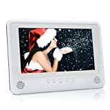 10.1' Dual Screen Portable DVD Player (White)