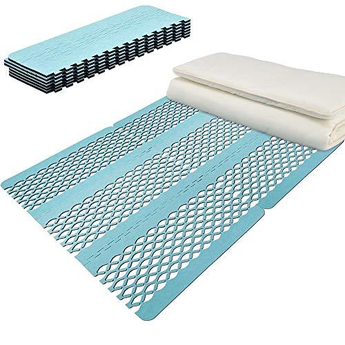 【テイジン】 ベルオアシスR使用 すのこ型吸湿マット エアジョブPLUS ブルー TJI-483 (ダブル)