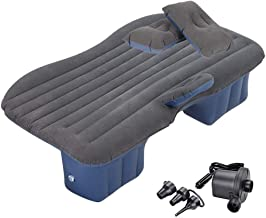 BMZX Model 3 Car Travel Inflatable Mattress Air Bed Cushion Portable Camping Universal for SUV Extend Air Couch with Two Air Pillows for Tesla Model 3