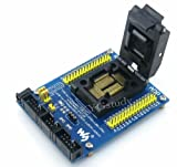 M64+ ADP ATmega64A-AU ATmega64 ATmega128 TQFP64 QFP64 AVR ISP JTAG Program Programmer Programming Yamaichi IC Test Socket Board Adapter @XYG