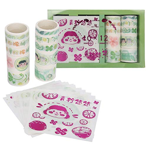 Rosvola Bastelband, Dekorband, Karton einzeln verpackt hochviskose DIY für Geschenkverpackungen Tassen Umschläge