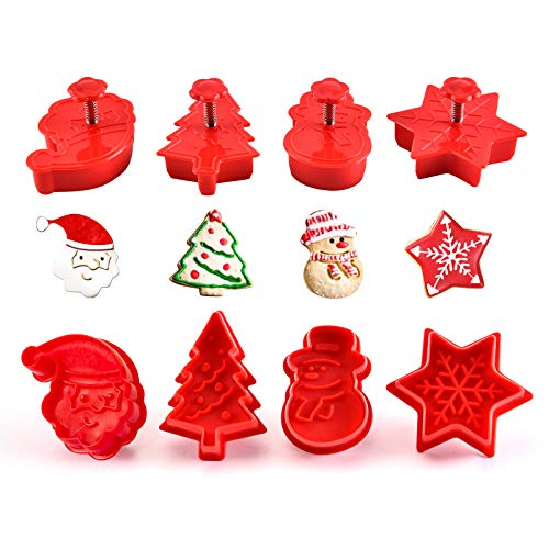 Mini Christmas Cookie Cutters