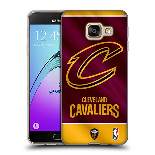 Head Case Designs Ufficiale NBA Banner 2019/20 Cleveland Cavaliers Cover in Morbido Gel Compatibile con Samsung Galaxy A3 (2016)