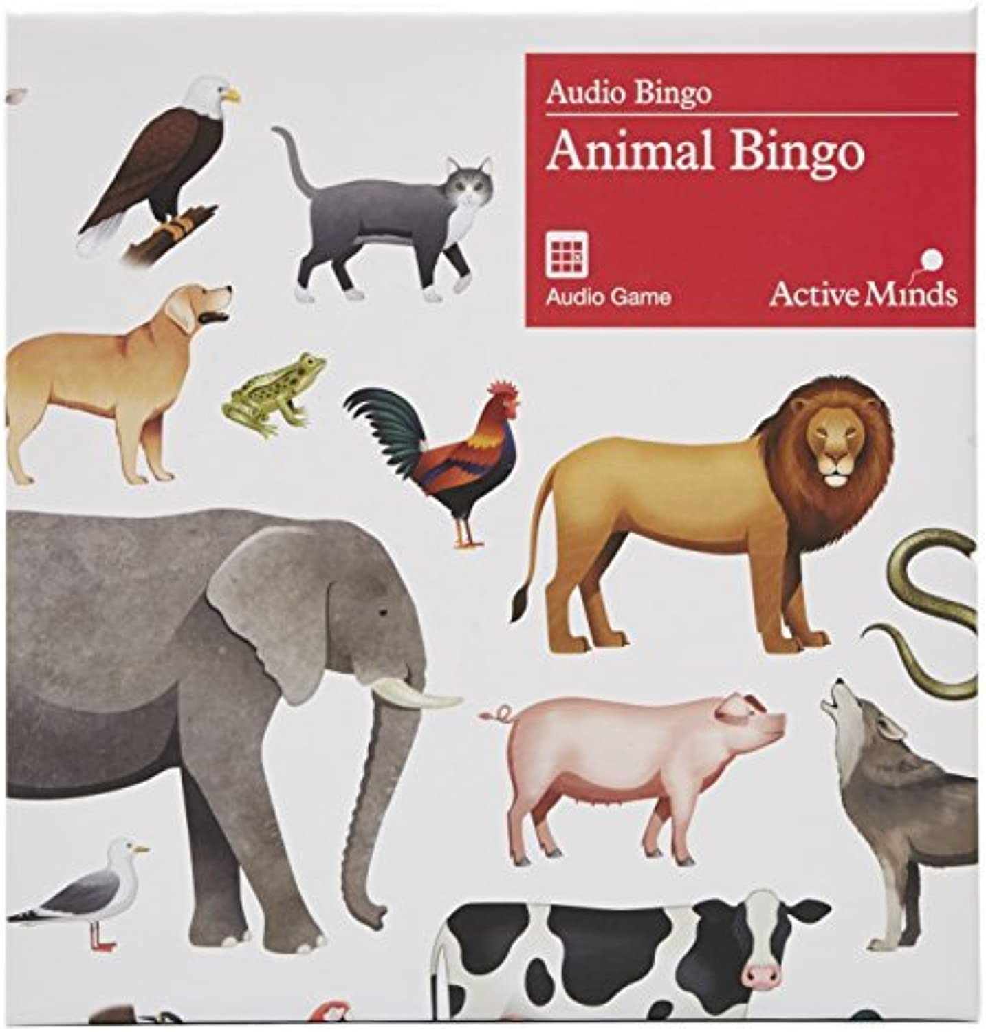 Animal Bingo - An audio game   activity designed specifically for people with dementia   Alzheimer's (early-late stage) by Active Minds