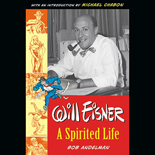 Will Eisner audiobook cover art