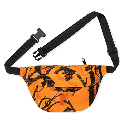 Carhartt Payton Hip Bag I025742 Camo Tree Orange Riñonera de cordura