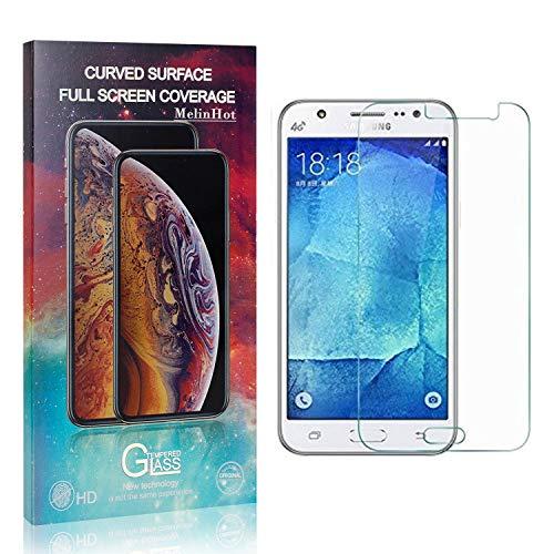 MelinHot Verre Trempé pour Galaxy J5 2016, sans Bulles, 3D Touch, Anti Rayures Protection en Verre Trempé Écran pour Samsung Galaxy J5 2016, Dureté 9H, 4 Pièces