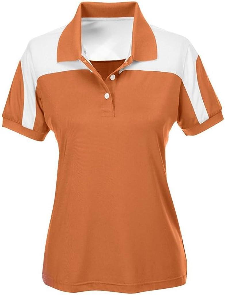 Team 365 Ladies Victor Performance Polo (XX-Large, Sport Burnt Orange)