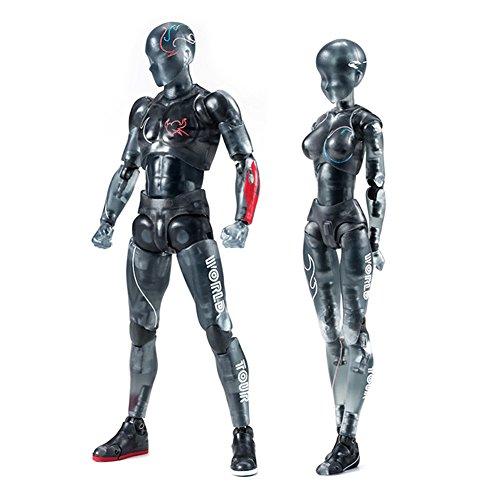 Guajave Body-Kun/Chan DX PVC Macho/Hembra Figura de acción Modelo para SHF niños niños coleccionista Juguete Regalo