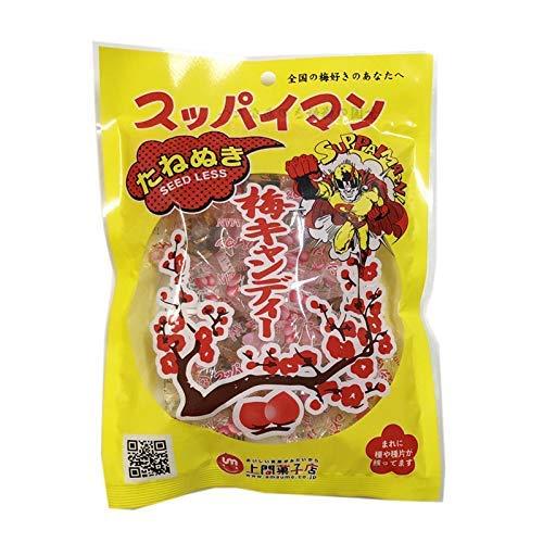 スッパイマン 梅キャンディー たねぬき 12個入×6袋 上間菓子店 沖縄では定番の乾燥梅干 梅の風味に絶妙な甘さ 熱中症対策や沖縄土産にも