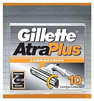 Gillette AtraPlus Cartridges with Lubrastrip 10-Count Packages  Pack of 2