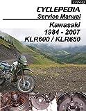 1984-2007 Kawasaki KLR600/650 Service Manual