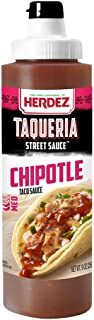 Herdez Taqueria Street Sauce Smoky Chipotle (Pack of 8)