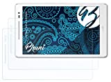 Bruni Schutzfolie kompatibel mit Asus ZenPad 8.0 Z380C Folie, glasklare Bildschirmschutzfolie (2X)