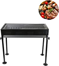 Portable Outdoor BBQ Grill Household Detachable Charcoal Stainless Steel Camp Picnic Cooker Oven Rack for 3-5 People Garden Barbecue Camping Tailgating